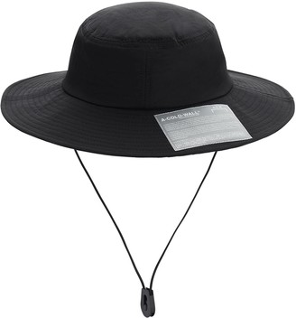 A-Cold-Wall* Tech Bucket Hat W/ Snap Pocket