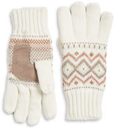 Isotoner Lined Fair Isle Gloves