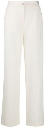 Lardini High-Waist Straight Leg Trousers