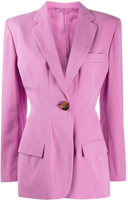 ATTICO Donna single-breasted blazer