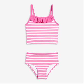 Joe Fresh Toddler Girls' Stripe Tankini Set, Pink (Size 3)
