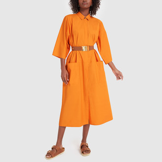 Sofie D'hoore Apricot Shirtdress