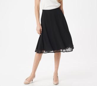 Brooke Shields Timeless BROOKE SHIELDS Timeless Printed Half Circle Skirt