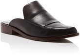 Tibi Denni Leather Mule