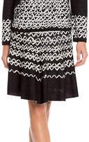 Nic+Zoe PETITE Geo Print Chic Skirt