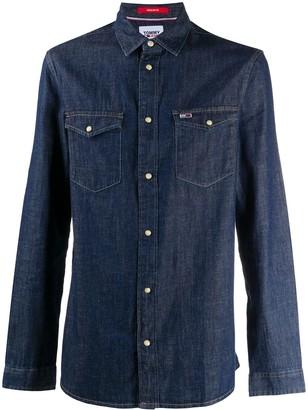 Tommy Jeans Two-Pocket Denim Shirt