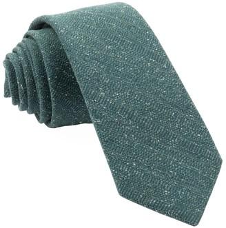 Hunter Bear Lake Solid Green Tie