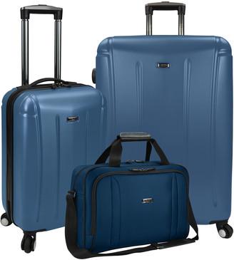 Traveler's Choice Travelers Choice U.S Traveler Hytop 3Pc Luggage Set