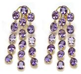 Amrita Singh Saima 14K Yellow Gold, Amethyst & 0.50 Total Ct. Diamond Earrings