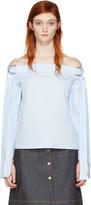 Harmony Blue Tara Off-the-shoulder Blouse