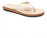 Ivory Cotton Braided Sandal