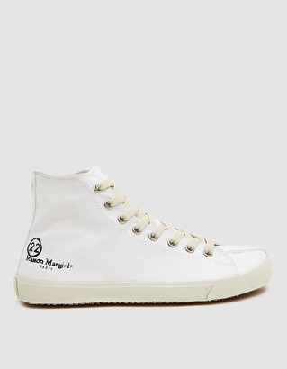 Maison Margiela Canvas Tabi High Sneaker