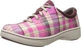Dansko Women's Brandi Pink Madras Fashion Sneaker