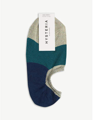 Hysteria By Happy Socks Isa colour-block invisible socks