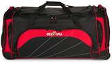 "Olympia 40"" Black & Red Jumbo Sized Rolling Duffel"
