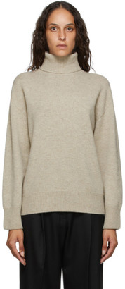Arch The Beige Cashmere Turtleneck