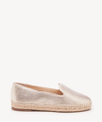 Sole Society Women's Sammah Espadrille Smoking Slippers Earl Grey Size 5 Haircalf From