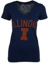 Royce Apparel Inc Women's Illinois Fighting Illini Vintage Arch T-Shirt
