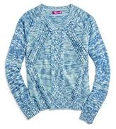 Aqua Girls' Slub-Knit Sweater, Big Kid - 100% Exclusive