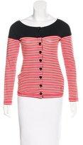 Sonia Rykiel Striped Button-Up Top