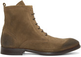 H By Hudson Tan Suede Lennon Boots