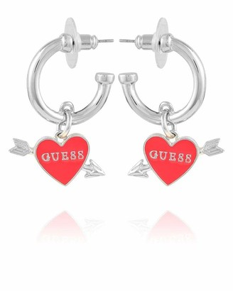GUESS Hoop Earring With Logo