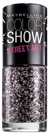 Maybelline Color Show Street Art Top Coat Pink Splatter