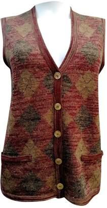 Celine Burgundy Wool Knitwear