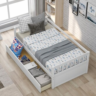 Magic Home Twin Size Daybed with Inseparable 2 Drawers