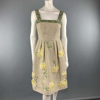 Oscar de la Renta Other Linen Dresses
