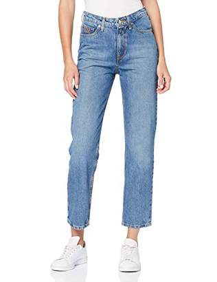 Tommy Hilfiger Women's Th Ess Classic Straight Hw C Jeans