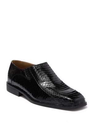 Giorgio Brutini Genuine Snakeskin Slip On Loafer
