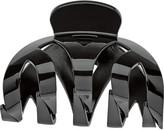 Karina Black Weaved Claw Clip