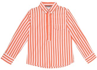 BRUNELLO CUCINELLI KIDS Exclusive to Mytheresa Striped cotton shirt
