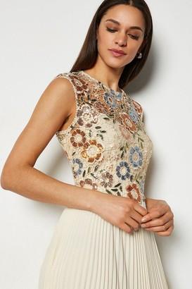 Karen Millen Sequin Lace Maxi Dress