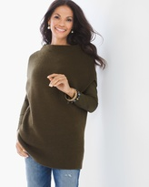 Chico's Elle Pullover in Ambered Olive
