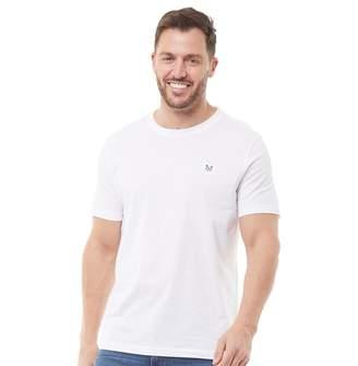 Crew Clothing Mens Round Neck T-Shirt White
