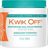 Coty Sally Hansen Kwik Off Nail Color Remover with Vitamin E and Aloe, 5.1 Fluid Ounce