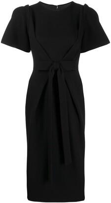 Dolce & Gabbana Bow Detail Midi Dress