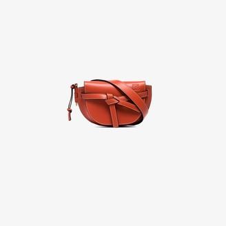 Loewe Orange Gate Mini Leather Belt Bag