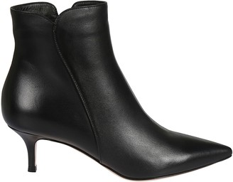 Gianvito Rossi Side Zipped Ankle Boots