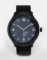 Mondaine Helvetica Nylon Strap Watch - Black