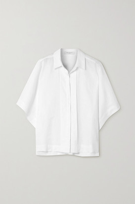 Equipment Chaney Linen Shirt - White