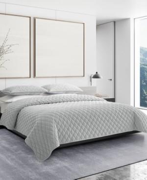 Vera Wang Diamond Velvet King Quilt Sham Set Bedding