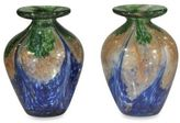 Dale Tiffany Dale TiffanyTM Mini Vase in Blue (Set of 2)