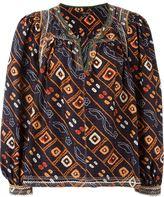 Isabel Marant 'Tyron' top - women - Silk/Cotton/Polyester/Viscose - 36