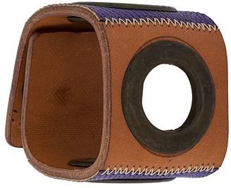 Gianfranco Ferré Pre Owned 2000s Woven Cuff Bracelet