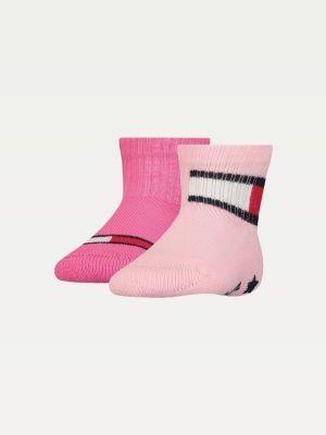 Tommy Hilfiger Babies' 2-Pack Flag Socks
