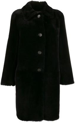 Desa 1972 Button Down Shearling Coat