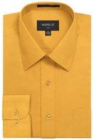 Ward St Men's Regular Fit Dress Shirts, 4XL, 20-20.5N 36/37S